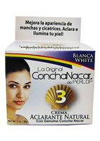 Concha Nacar White 3 Cream 2 oz