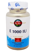 Vitamin  E 1000 IU 30 SoftGels