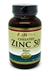 LifeTime Chelated Zinc 50 mg 100 tablets