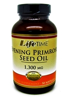 LifeTime Evening Primrose Oil 1300mg (50)