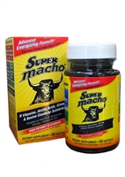 Super Macho Dietary Supplement 50 Softgels