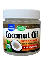 Nature's Way Organic Coconut Oil Extra Virgin (16 oz)