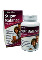Natural Care Sugar Balance Homeopathic (60)