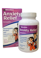 Natural Care Anxiety Relief Homeopathic (60)