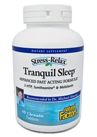 Natural Factors Tranquil Sleep 60 Chewable tablets