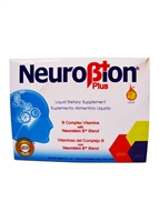 Neurobion Plus B-Complex Vitamins Drinkable Unidose 12 Vials
