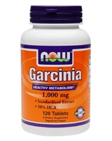 NOW Foods Garcinia Healthy Metabolism 1000mg (120)
