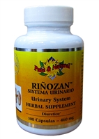 Rinozan Urinary System Herbal Supplement 460 mg (100)