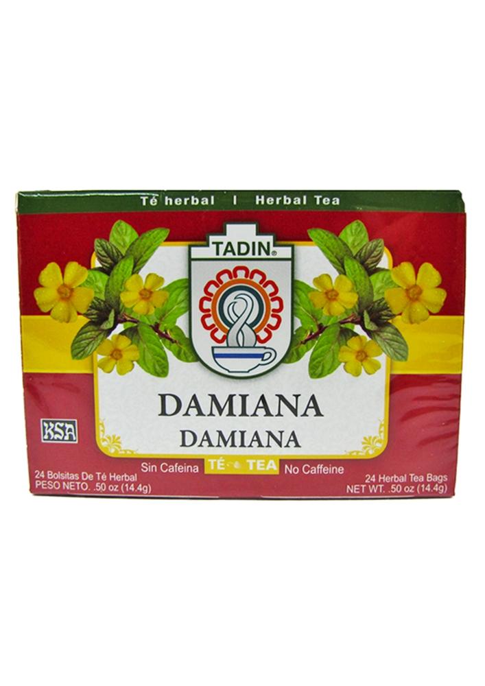 Tadin Damiana Tea 24 Tea Bags