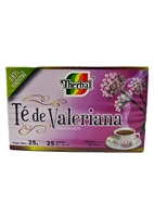 Therbal Valerian Root Tea/Te de Valeriana 24 Tea Bags