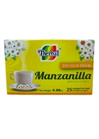 Therbal Chamomile Tea/Te de Manzanilla 25 Tea Bags