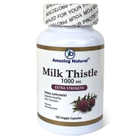 Milk Thistle 500 mg 120 Veggie Capsules