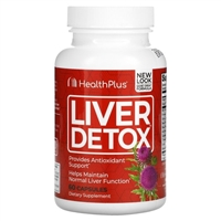 Super Liver Cleanse 90 Capsules by Health Plus