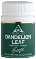 Dandelion Leaf (Taraxacum officinalis) - 100x Pure Herbal Capsules