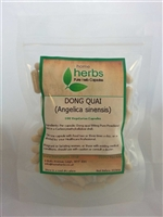Dong Quai (Angelica sinensis) - 100x Pure Herb Capsules