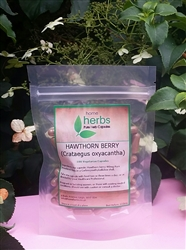 Hawthorn Berry (Crataegus oxyacantha) - 100x Pure Herbal Capsules