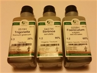 Male Herbal Breast Enhancement Kit (Pure Herbs) - 3x 500ml Tinctures