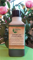 Damiana Leaf (Turnera diffusa) - 500ml Organic Tincture