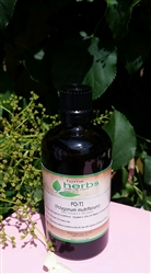 Fo-ti Root (Polygonum multiflorum) - 500ml Organic Tincture