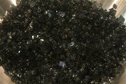 Black reflective Fireglass