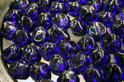 Cobalt Blue diamond fire crystals