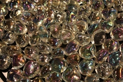 Clear diamond fire crystals
