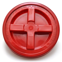Grit Guard Gamma Seal Lid - Red