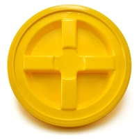 Grit Guard Gamma Seal Lid - Yellow