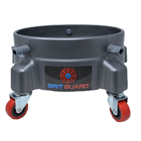 Grit Guard Bucket Dolly - Silver