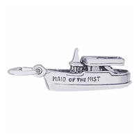 Rembrandt Maid Of The Mist Charm, Sterling Silver