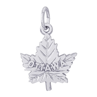 Rembrandt Ottawa Charm, Sterling Silver