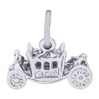 Rembrandt Royal Carriage Charm, Sterling Silver