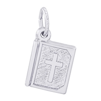 Rembrandt Bible Charm, Sterling Silver
