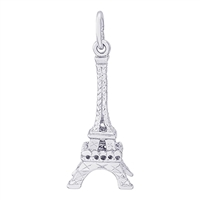 Rembrandt Eiffel Tower Charm, Sterling Silver