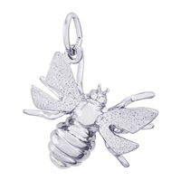 Rembrandt Bee Charm, Sterling Silver