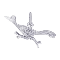 Rembrandt Road Runner Charm, 14K White Gold