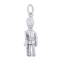 Rembrandt British Guard Charm, Sterling Silver