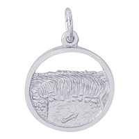 Rembrandt Niagara Falls Charm, Sterling Silver