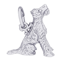 Rembrandt Terrier Charm, Sterling Silver