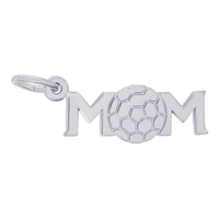 Rembrandt Soccer Mom Charm, Sterling Silver