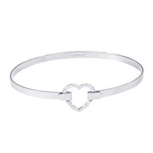 "Rembrandt ""Beloved"" 7 Inch Bangle, Sterling Silver"
