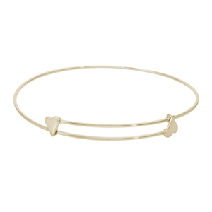 "Rembrandt ""Sweet"" Expandable Bangle, Gold Plated Silver"
