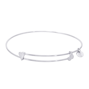"Rembrandt ""Sweet"" Expandable Bangle, Sterling Silver"
