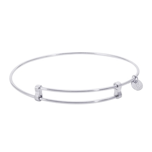 "Rembrandt ""Confident"" Expandable Bangle, Sterling Silver"