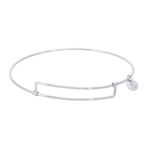 "Rembrandt ""Pure"" Expandable Bangle, Sterling Silver"