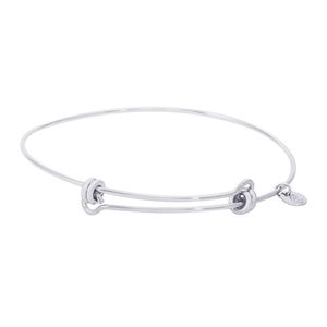 "Rembrandt ""Balanced"" Expandable Bangle, Sterling Silver"