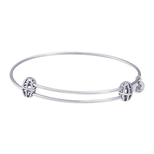 "Rembrandt ""Graceful"" Expandable Bangle, Sterling Silver"