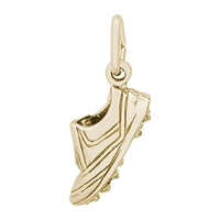 Rembrandt Golf Shoe Charm, Gold Plated Silver