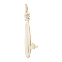 Rembrandt Submarine Charm, Gold Plated Silver