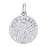 Rembrandt Paramedic Charm, Sterling Silver